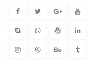 Font awesome css social media icons free download