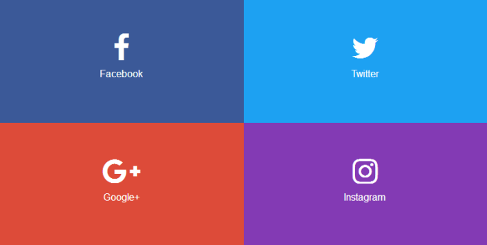 Large size social media icons css free download