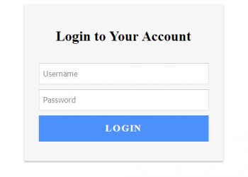 css html login form template free download