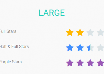 CSS Star Rating System Example Free Download