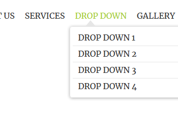 Pure css dropdown navigation bar