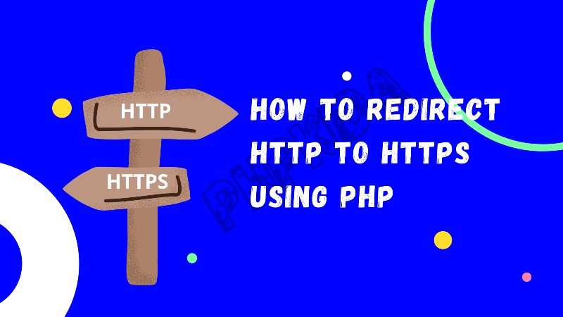 Redirecting HTTP to HTTPS with PHP