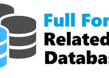 All Full Forms Related to Database