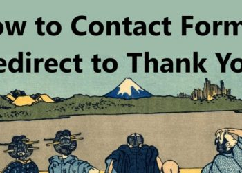 Contact Form 7 Redirect to Thank You Page