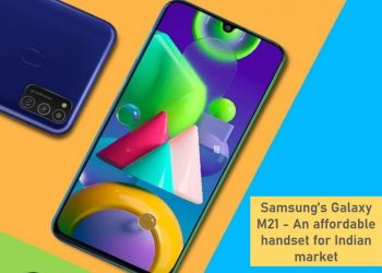 Samsung announced a budget-oriented Galaxy M21 for India